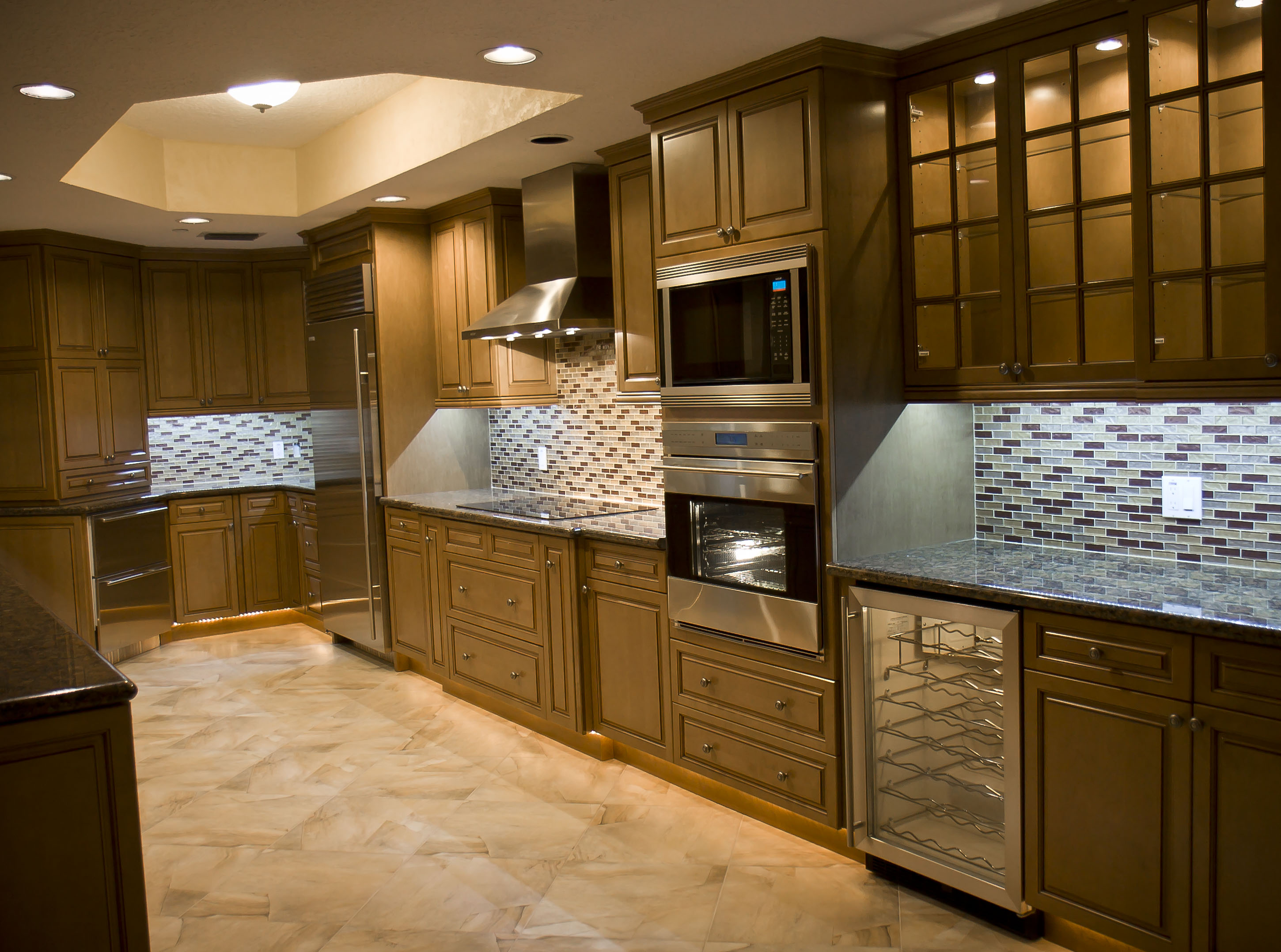 Kitchen Remodel With Wolf And Sub Zero Appliances