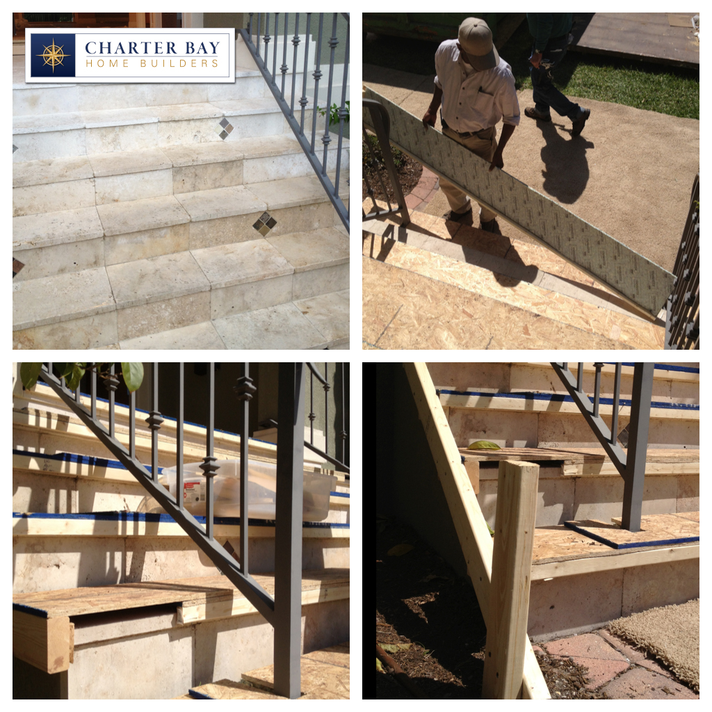 CHINESE DRYWALL REMEDIATION TAMPA - STAIR PROTECTION