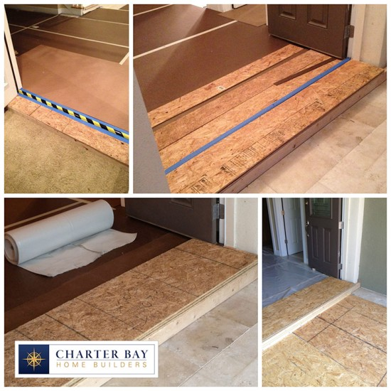 Floor Protection Systems For Chinese Drywall Remediation Tampa Custom Home Building Tampa
