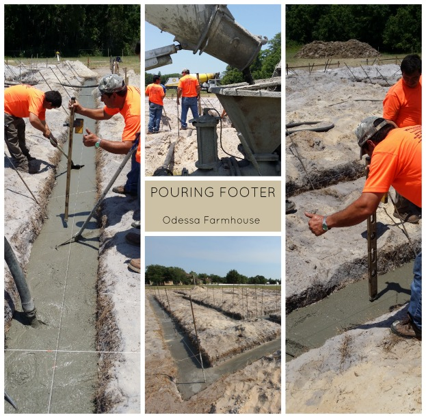 New construction footers process custom home building for New construction building process