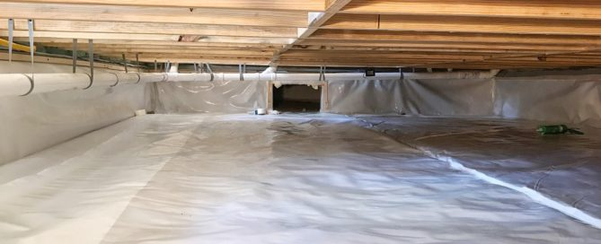 Dade City Renovation - Crawlspace Encapsulation