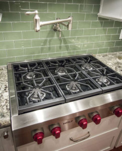 Merveilleux Wolf Gas Cooktop In A Custom Built Project In Pasco County.